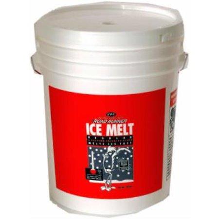 Road Runner 50 LB Premium Ice Melt Blend Of Calcium & Magnesium Pellet Only (Ice Pellets)