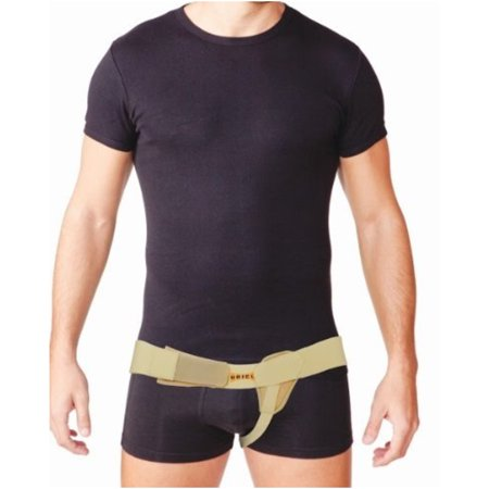 Meditex Uriel Left Side Inguinal Hernia Support Truss Belt with Compression