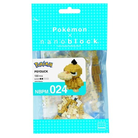 Pokemon Psyduck 130 pcs. - Building Set by Nanoblock