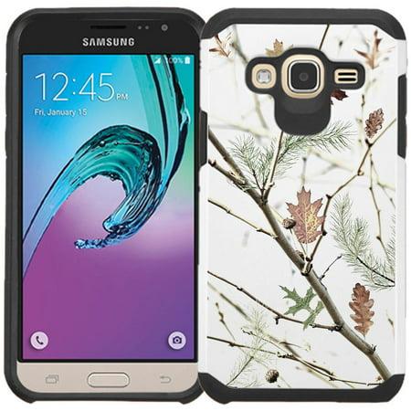Metal Gear Phone (Samsung Galaxy J3, Galaxy Express Prime, Galaxy Amp Prime, Galaxy Sol J320 Case - Armatus Gear (TM) Slim Hybrid Armor Case Protective Phone Cover )