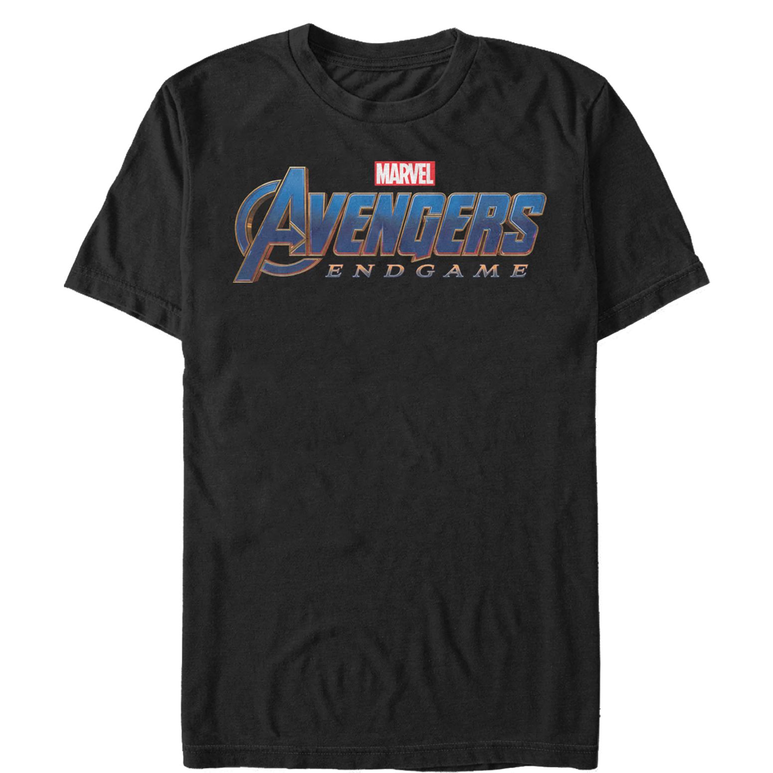 Marvel Men's Avengers: Endgame Classic Logo T-Shirt