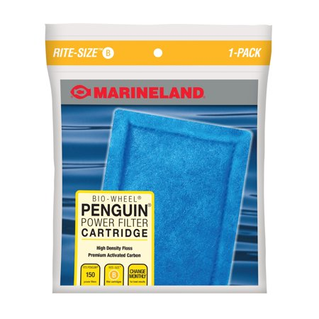 Marineland Penguin Bio-Wheel Power Filter Cartridges, Rite-Size B 1