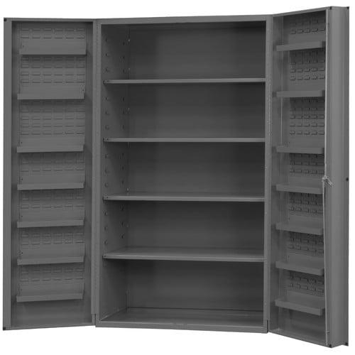 Durham Manufacturing 78'' H x 48'' W x 24'' D Heavy Duty Welded 14 Gauge Steel Cabinet