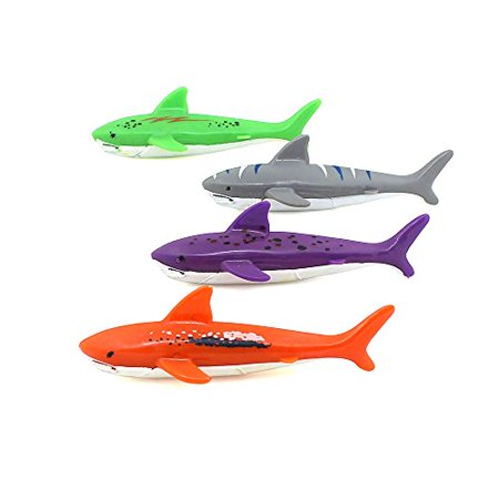 ZHMY Diving Toy Pool Glide Shark Throw Torpedo Underwater, Pool Shark (Shark Ray) - image 3 of 4
