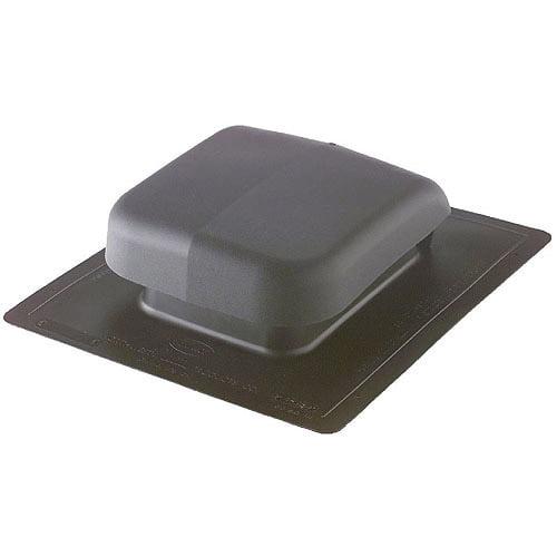 "NORWESCO 16"" x 20"" Black Plastic Roof Vent"