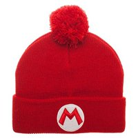 Super Mario Red Mario Pom Beanie