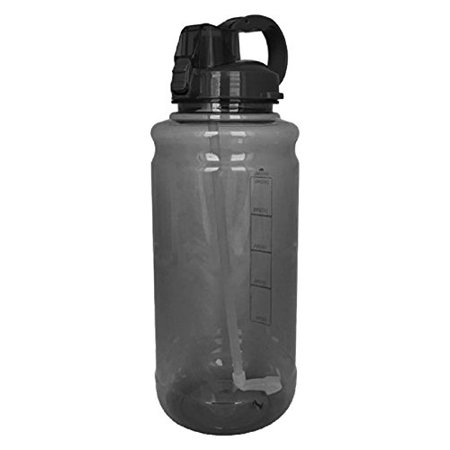 101oz Large Outdoor Water Bottle with Handle & Straw (Water Bottles With Straws)