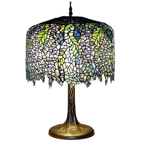 Warehouse of Tiffany Wisteria 27'' Table Lamp