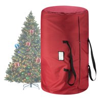Tiny Tim Totes Red Canvas Christmas Tree Storage Bag, Large For 9 Foot Tree