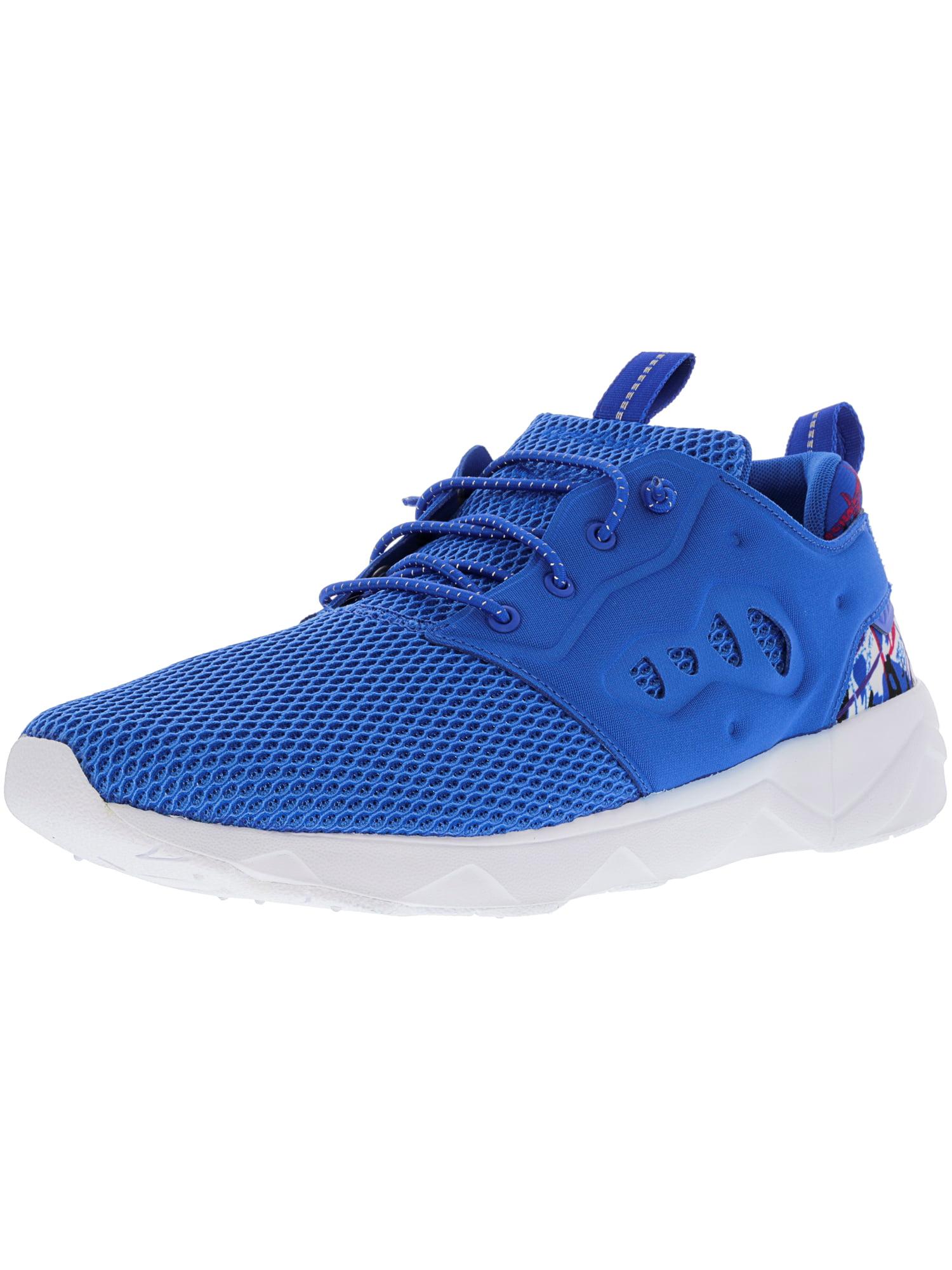 Reebok Men's Furylite Ii Ar Awesome Blue / White Black Ankle-High Slip-On Shoes - 8.5M