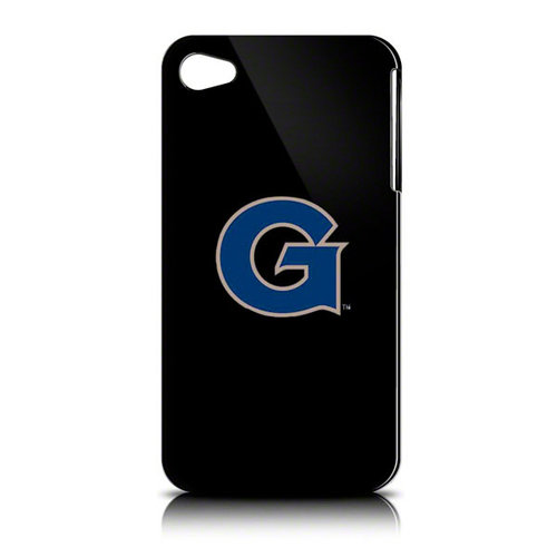 NCAA - Georgetown Hoyas iPhone 4 Case: Black Shell