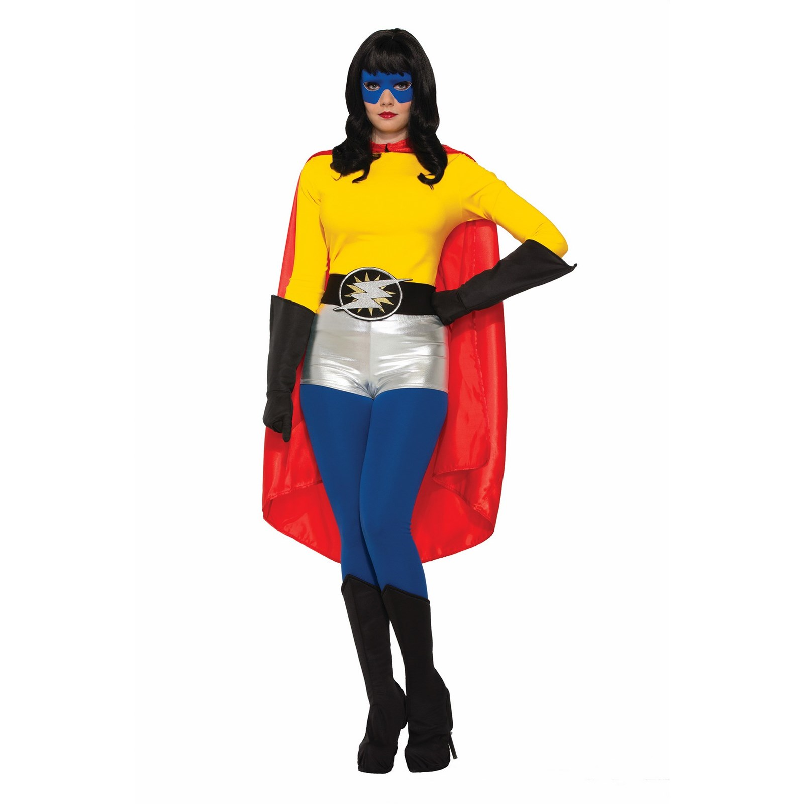 Red Adult Cape Halloween Costume Accessory