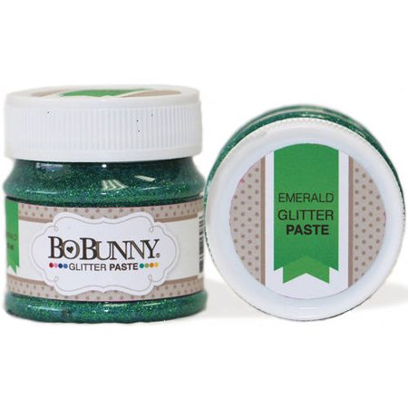 Double Satin Glitter (Bo Bunny Double Dot Glitter Paste 1.69oz)