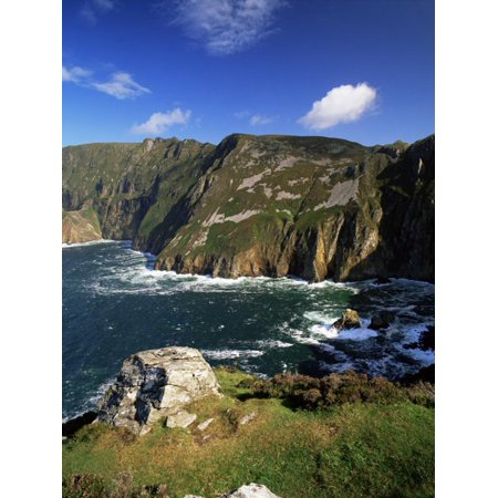 Slieve League, Bunglass Point, County Donegal, Ulster, Republic of Ireland Print Wall Art By Patrick -