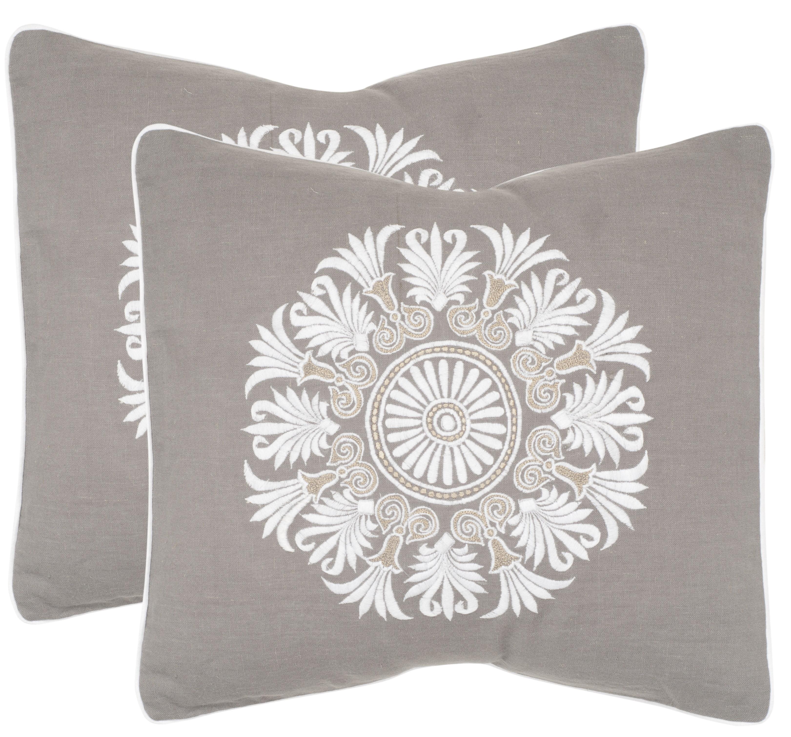Safavieh Versailles Abstract Pillow, Set of 2