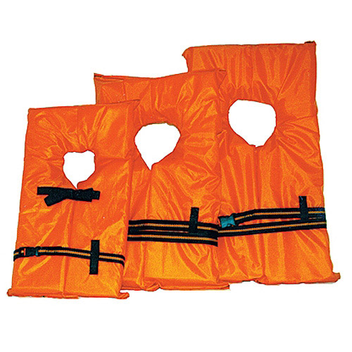 Kent Orange Foam Life Preserver, Small, 30 to 50 lbs
