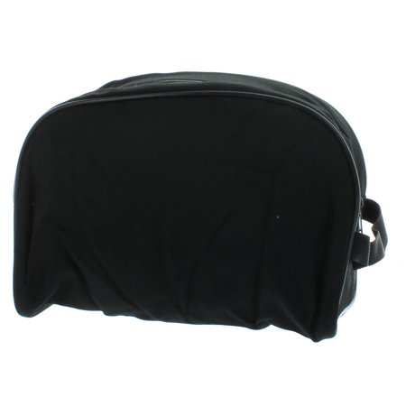 Men s Black Travel Bag Toiletry Shave Case Bag Dopp Kit - Walmart.com 590d1f922d