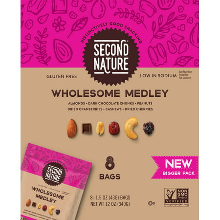 Natures Medley - Kars Nuts Second Nature Wholesome Medley 12oz 8ct