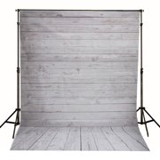 5x7Ft Wood Floor Photography Vinyl Fabric Background Photo Backdrops For Video Studio Screen Props