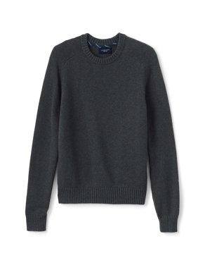 Lands' End Men's Cotton Drifter Crew Sweater