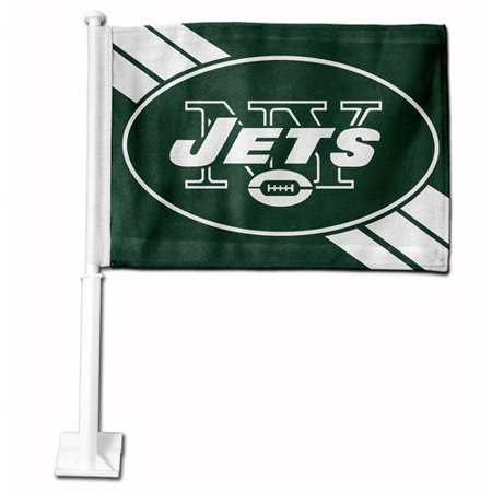 Rico Industries Nfl Car Flag  New York Jets