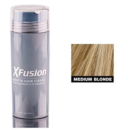 Xfusion Hair Fiber - XFusion Keratin Hair Fibers - 0.98 oz - Medium Blonde