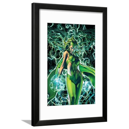 X-Men: Kingbreaker #3 Cover Featuring Polaris Framed Print Wall Art By Brandon Peterson
