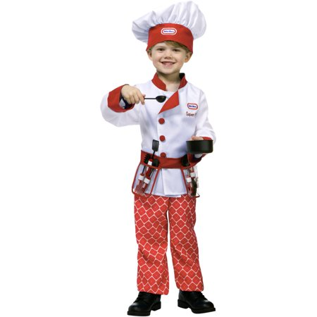 Little Tikes Red Restaurant Kitchen Chef Toddler Costume - Diy Chef Costume