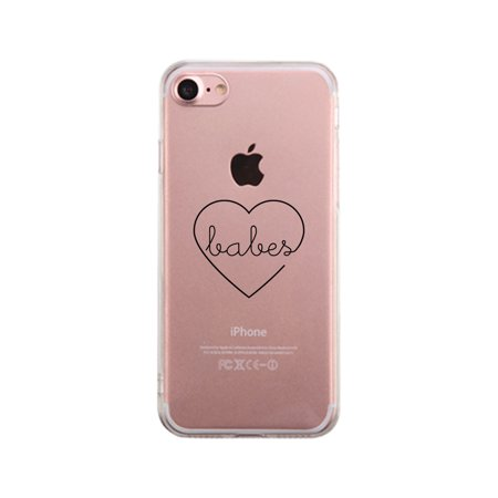 Best Babes-Right Best Friend Matching Clear Phone Case For iPhone
