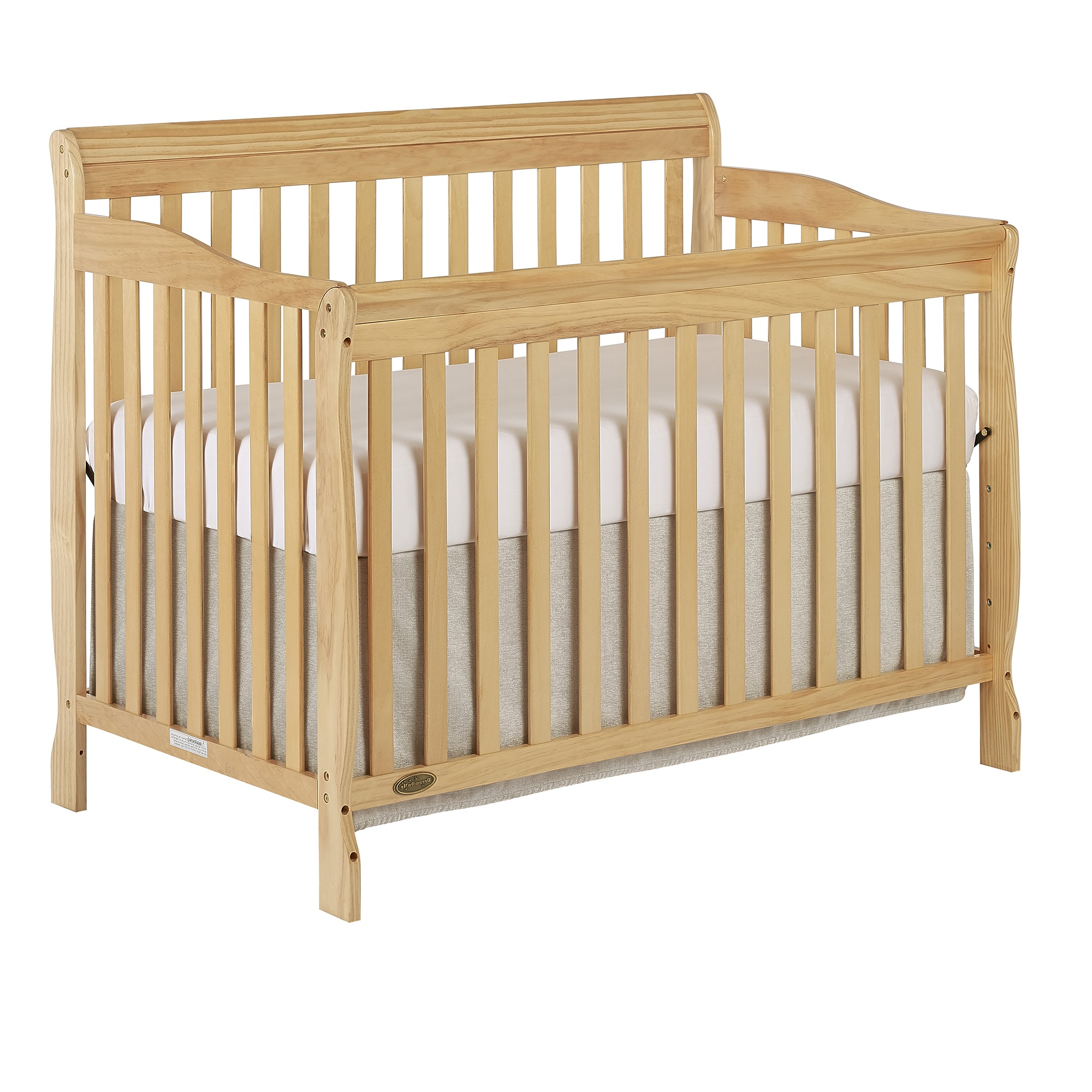Dream On Me Ashton 5-in-1 Convertible Crib, Natural
