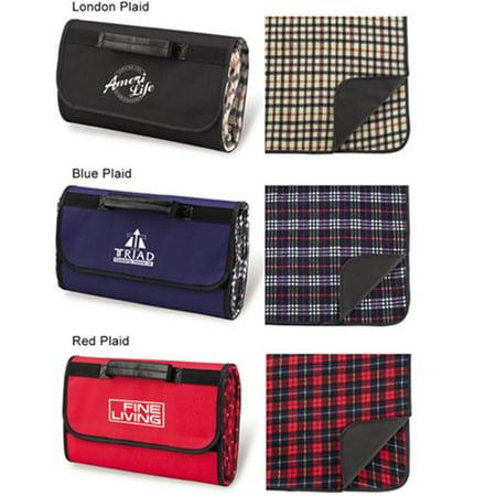 Picnic at Ascot 211-RP Picnic Blanket Tote - Red Plaid ()