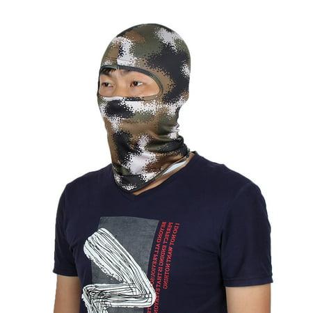 02260cdd4c1 Full Coverage Sports Gel Padded Neck Protector Hood Helmet Balaclava  Camouflage - Walmart.com