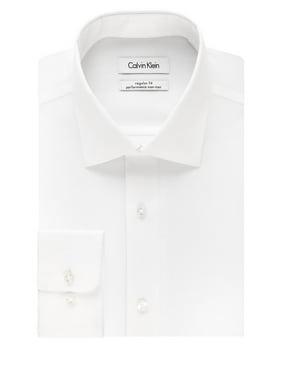 Calvin Klein Mens Non Iron Button Up Dress Shirt