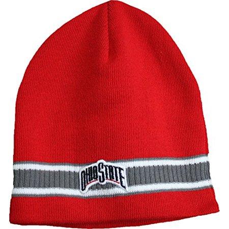 NCAA Ohio State Buckeyes Knit Beanie Hat Cap - Walmart.com 86e4c3d0ecf