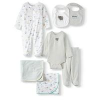 Garanimals Newborn Baby Boy or Girl Gender Neutral Clothes Shower Gift Set, 7-Piece