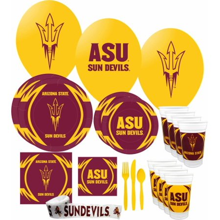 Arizona State Sun Devils Party Supplies Pack #3 - Arizona State Party