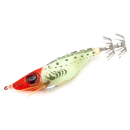 Colorful Fishing Lure Imitation Shrimp Hard Bait Prawn Lure with Squid Jigs Connector Rings