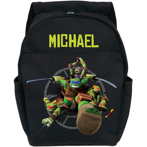 Personalized Teenage Mutant Ninja Turtles Protect Black Youth Backpack