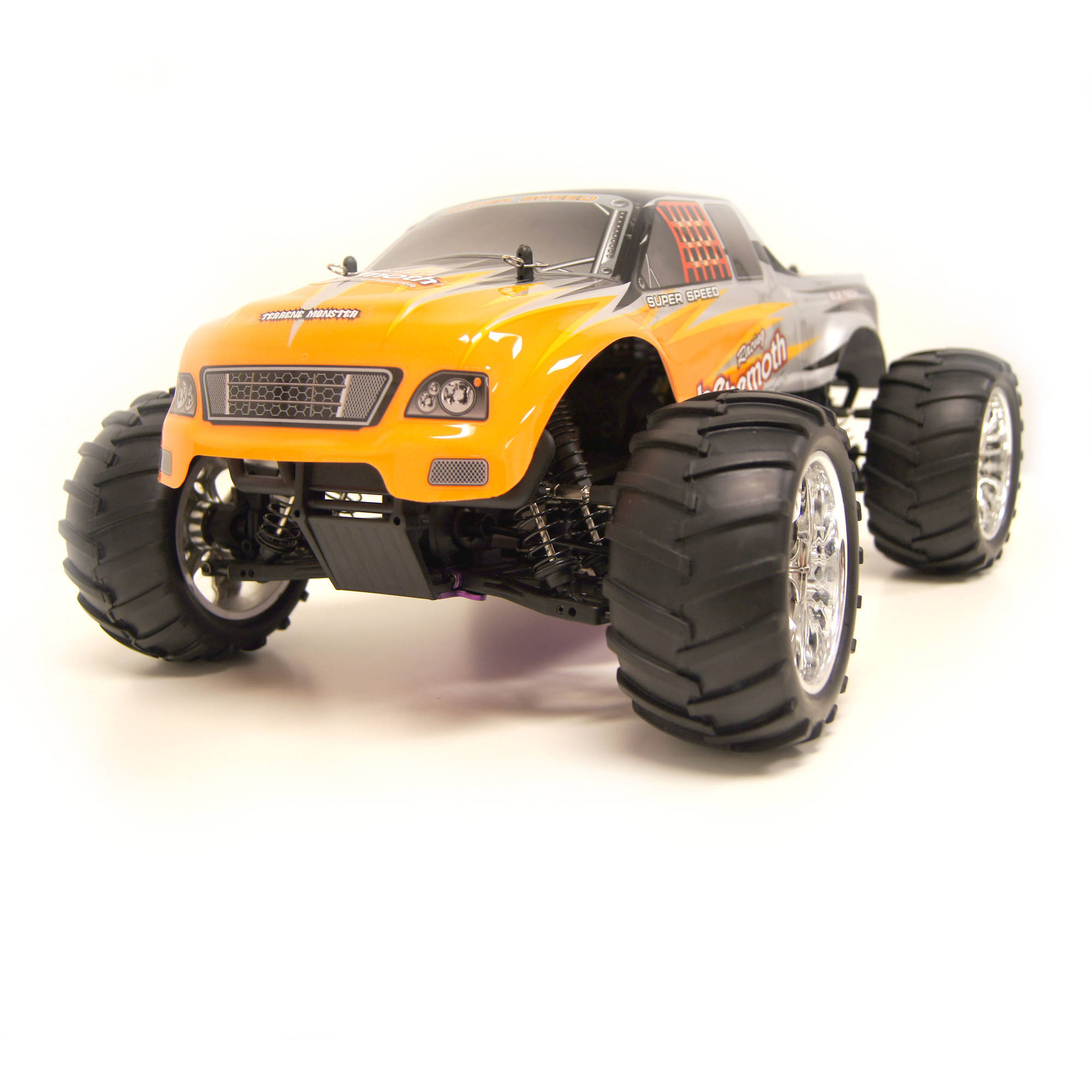 1/10 Scale RCC1081ORANGE R/C Gas Powered 4WD Off-Road Truck