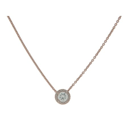 45 Cm Necklace - Classic Elegance Necklace, PANDORA Rose & Clear CZ 386240CZ-45 cm 17.7