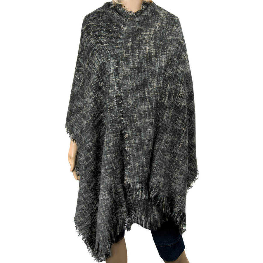 Aerusi Women's Soft Woven Oversized Wrap Shawl Grid Blanket Scarf