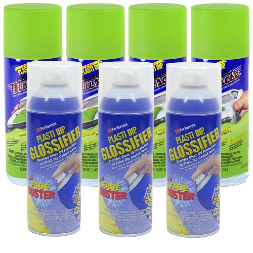 Plasti Dip Muscle Car Sublime Green Glossifier Kit