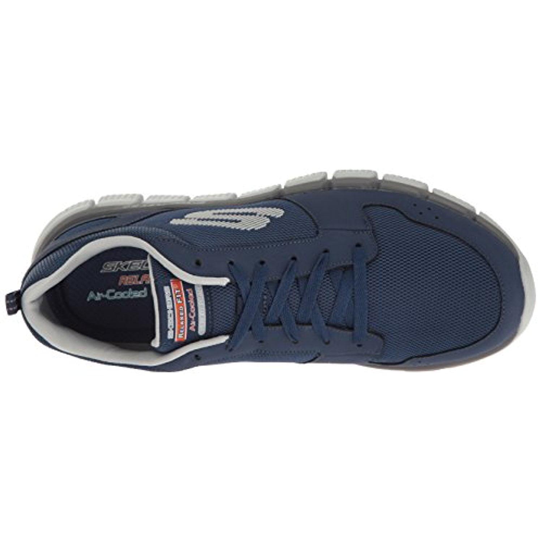 Skechers 52618NVGY Men's SKECH-FLEX 2.0 Training Shoes