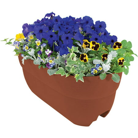 Emsco Group 24   Rail Planter   Color May Vary