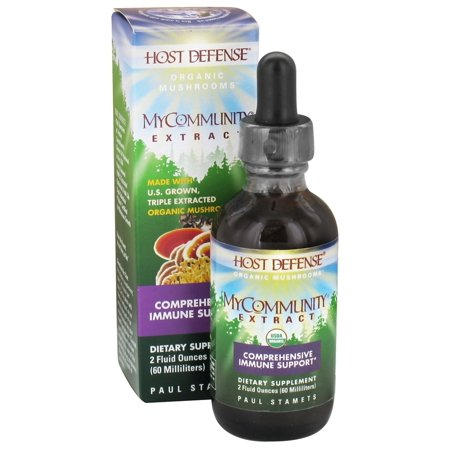 Defense Extract - Fungi Perfecti - Host Defense MyCommunity Extract - 2 oz.