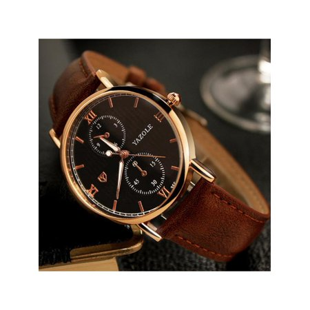 Men Business Urban Fashion Luxury Waterproof Luminous Analog Watches Blue Glass Quartz  Wristwatch Gifts