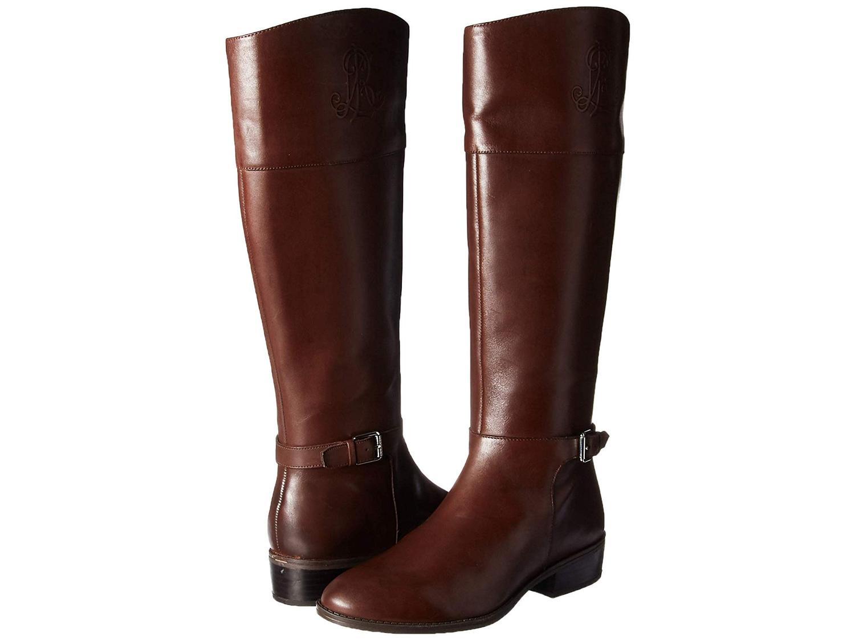 Ralph Lauren Womens Madisen Leather