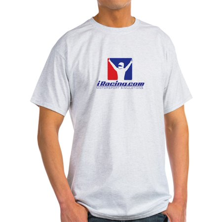 CafePress - Iracing Horiz Logo Modified 2000X2000 T Shirt - Light T-Shirt - CP ()