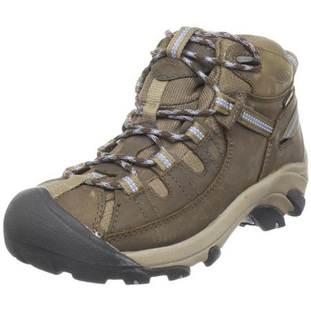 Keen Targhee Hiking Shoe - Keen Womens Targhee II Mid Leather Waterproof Hiking Boots