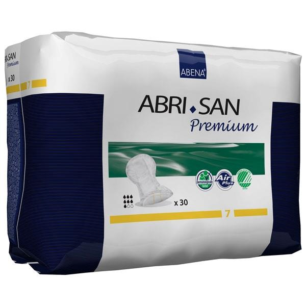 "Abri-San 7 Premium Shaped Pad, 14"" X 25"" L - Case of 90"